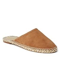 Espadrille Loafer Slide