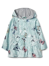 Butterfly Rain Poncho