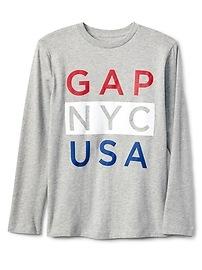 T-shirt à logo imprimé