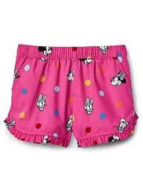 Short à ourlet fendu babyGap Mickey Mouse et Minnie Mouse de Disney