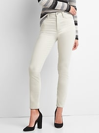 Washwell Super High Rise True Skinny Ankle Jeans in Velvet