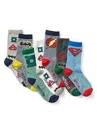 GapKids &#124 DC&#153 Days-of-the-Week Crew Socks (7-Pairs)