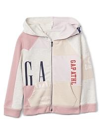 babyGap Logo Remix Hoodie Sweatshirt