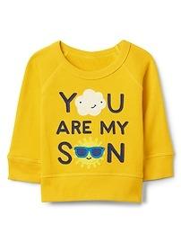 Sunshine Pullover Crewneck Sweatshirt