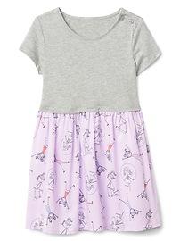 Playground Mix-Fabric Dress
