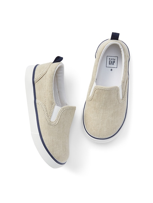 Canvas Slip On Sneakers by Gap