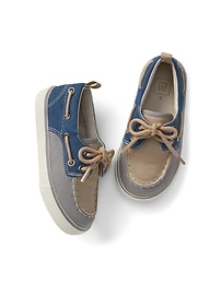 Colorblock Boat Shoes