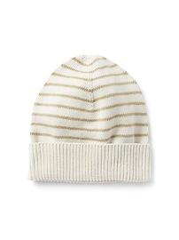 Stripe Beanie in Combed Cotton