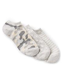 Pattern Ankle Socks (3-Pack)