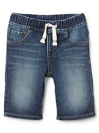 "6"" Pull-On Denim Shorts"