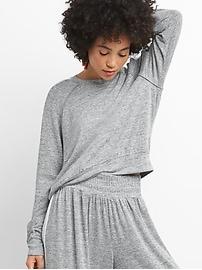 Softspun Long Sleeve Raglan T-Shirt with Side Stripe