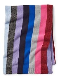 Crazy stripe blanket