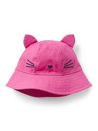 Chapeau mou à motif animalier