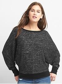 Softspun dolman pullover