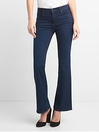 Mid Rise Perfect Boot Jeans in Sculpt