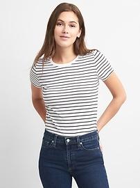 Vintage Stripe Crewneck T-shirt