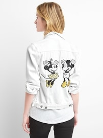 Veste emblématique Gap en denim Collection Cupidon Disney
