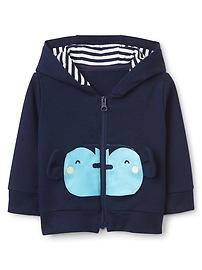 Monkey Graphic Hoodie Sweatshirt