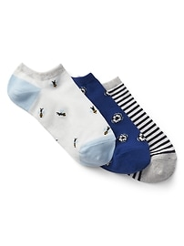 Mix Ankle Socks (3-Pack)