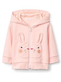 Bunny Zip Hoodie