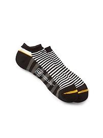 Mix-Stripe Ankle Socks