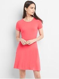 Softspun Fit and Flare Dress