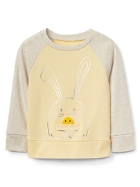 Animal Pocket Pullover Sweater