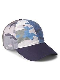 Camo Patchwork Baseball Hat