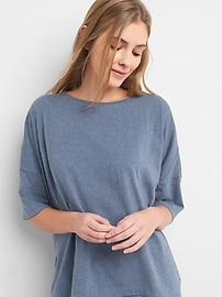 Oversize Short Sleeve Crewneck T-Shirt