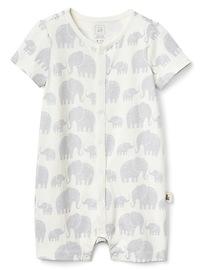 Organic Elephant Shorty One-Piece