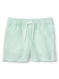 "2.5"" Pull-On Shorts in Linen"