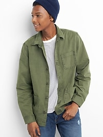 Shirt Jacket in Cotton
