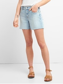 "Washwell Mid Rise 5"" Denim Shorts"