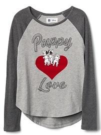 T-shirt à manches raglan GapKids à motifs de Disney