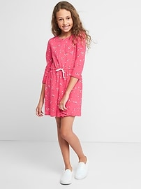 Robe style t-shirt confort
