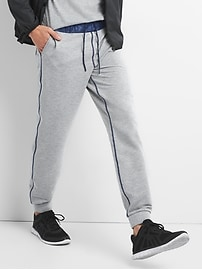 GapFit All-Elements Fleece Joggers in Mix-Fabric
