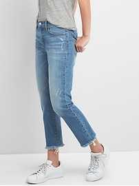 Washwell Mid Rise Best Girlfriend Jeans