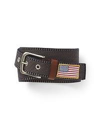 Chino Stripe Web Belt