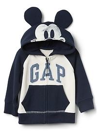 babyGap &#124 Disney Logo Mickey Mouse Hoodie