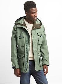 Hooded Fatigue Jacket