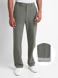GapFit Performance Khakis in Straight Fit with GapFlex