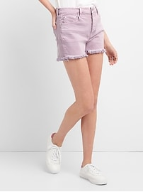 "High Rise 3"" Denim Shorts in Color"
