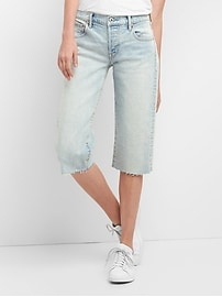 Cone Denim&#174 High Rise Super Crop Jeans