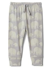 Pantalon à enfiler en coton biologique