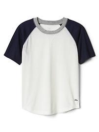 T-shirt raglan à imprimé