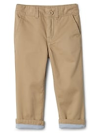 Lined Everyday Khakis