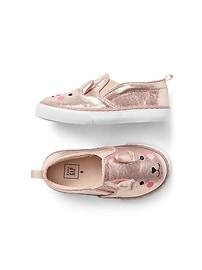 Bunny Slip-On Sneakers