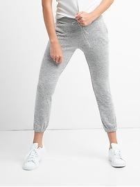 Pantalon d'entraînement en tricot moelleux