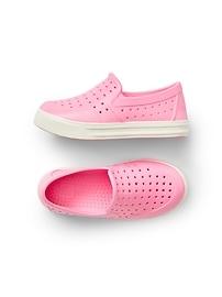 Chaussures à enfiler en caoutchouc