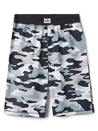 Short de pyjama camouflage (20cm)